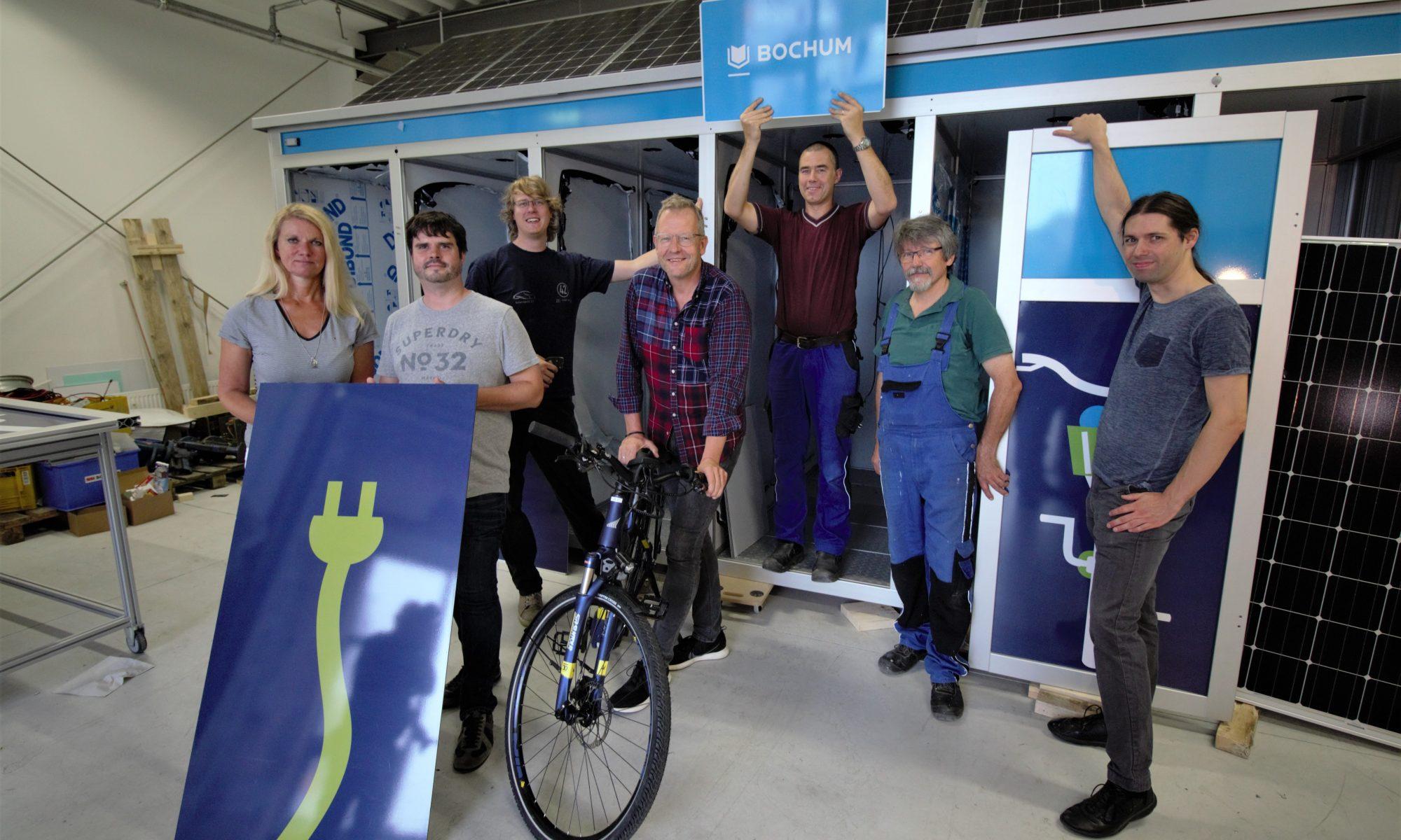 Das Team der E-Bike-Garage